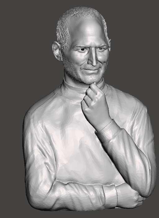 دانلود مدل سه بعدی بالاتنه استیو جابز
