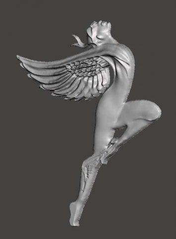 دانلود مدل سه بعدی بالها
