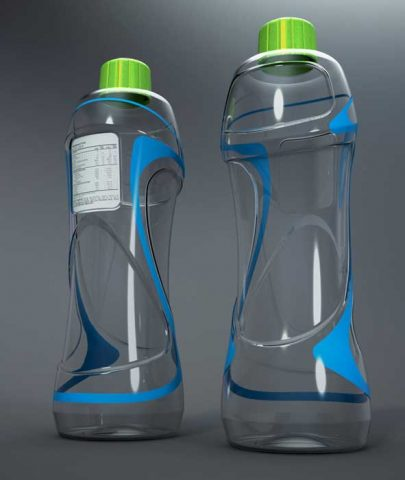دانلود مدل سه بعدی بطری مدرن