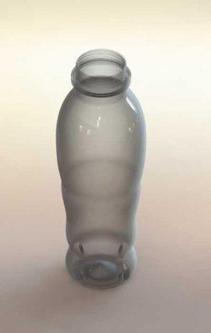 دانلود مدل سه بعدی بطری پلاستیکی