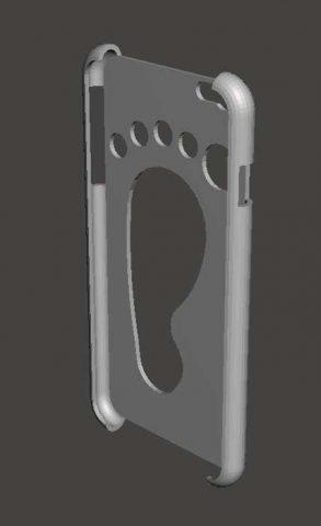 دانلود مدل سه بعدی قاب گوشی iphone6plus