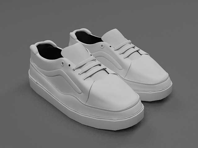 دانلود مدل سه بعدی کفش