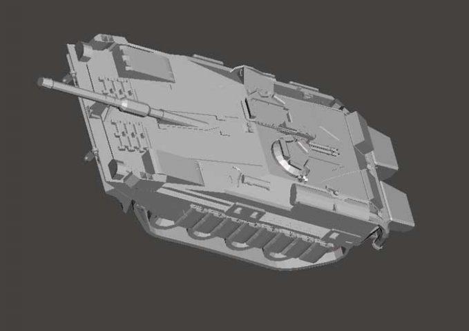 دانلود مدل سه بعدی تانک 103a