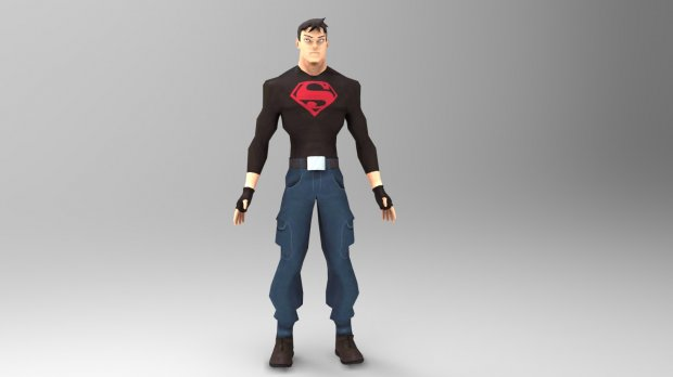 دانلود مدل سه بعدی سوپربوی
