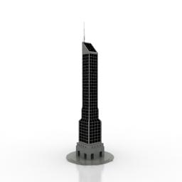 مدل آماده برج