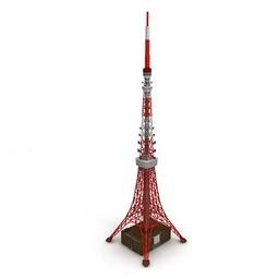 نمونه سه بعدی از برج آنتن