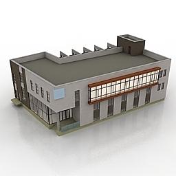 دانلود مدل سه بعدی ساختمان هتل
