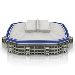 پروژه آماده سه بعدی سازی شده از ورزشگاه استادیم ورزشی