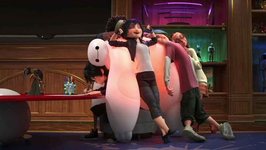 6قهرمان بزرگ (6 Big Hero):Baymax و تیم