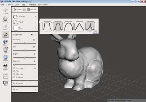 Autodesk Meshmixer نرمافزار