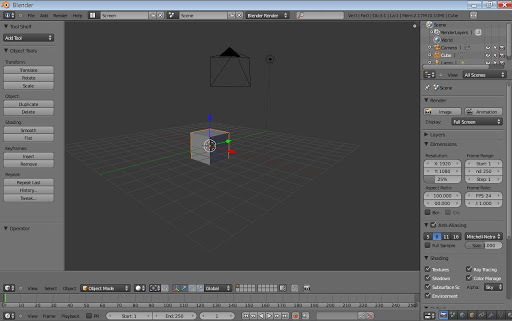Blender نرمافزار