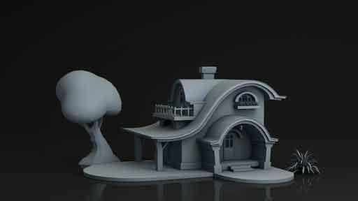 خانه انیمیشنی