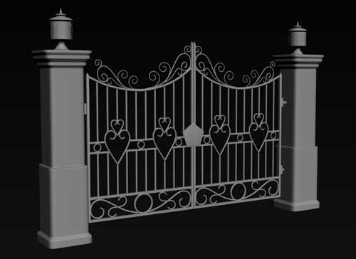 دروازه آهنی لاکچری