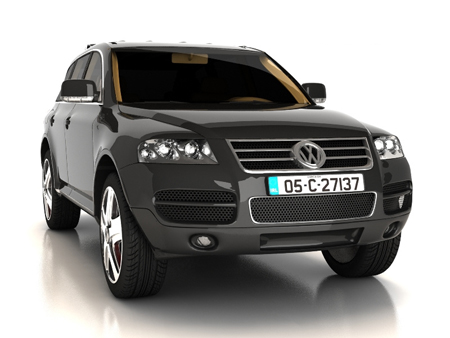 Volkswagen Touareg ماشین