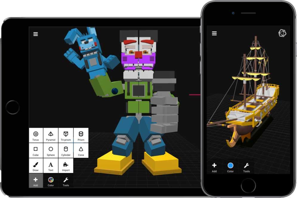 اپلیکیشن برتر سه بعدی سازی در گوشی