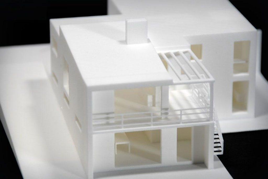 خانه پرینت شده به صورت سه بعدی