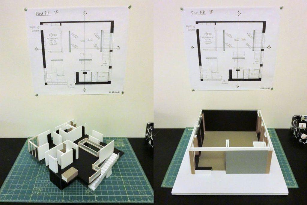 ساخت جداگانه قطعات داخلی و ساختاری