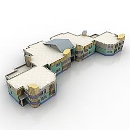 ساختمان مجموعه مسکونی 020410