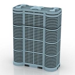 ساختمان برج اداری مسکونی 240413