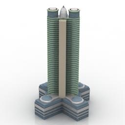 ساختمان برج تجاری اداری 270313