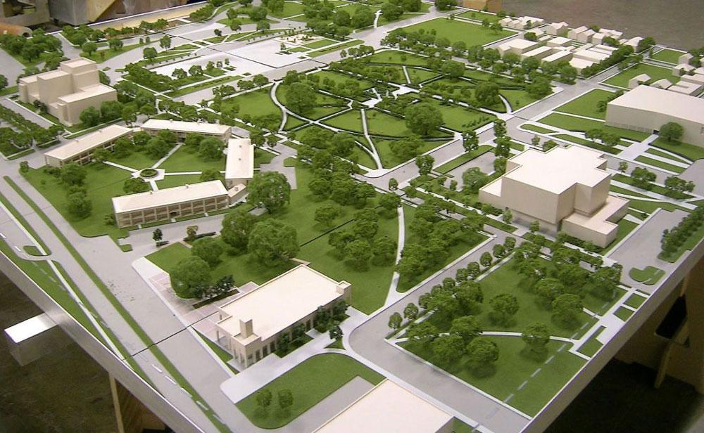 از ماکت معماری به منظور دادن اطلاعات به عموم مردم استفاده می شود
