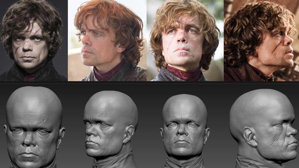 مدل سازی چهره افراد با نرم افزار زیبراش