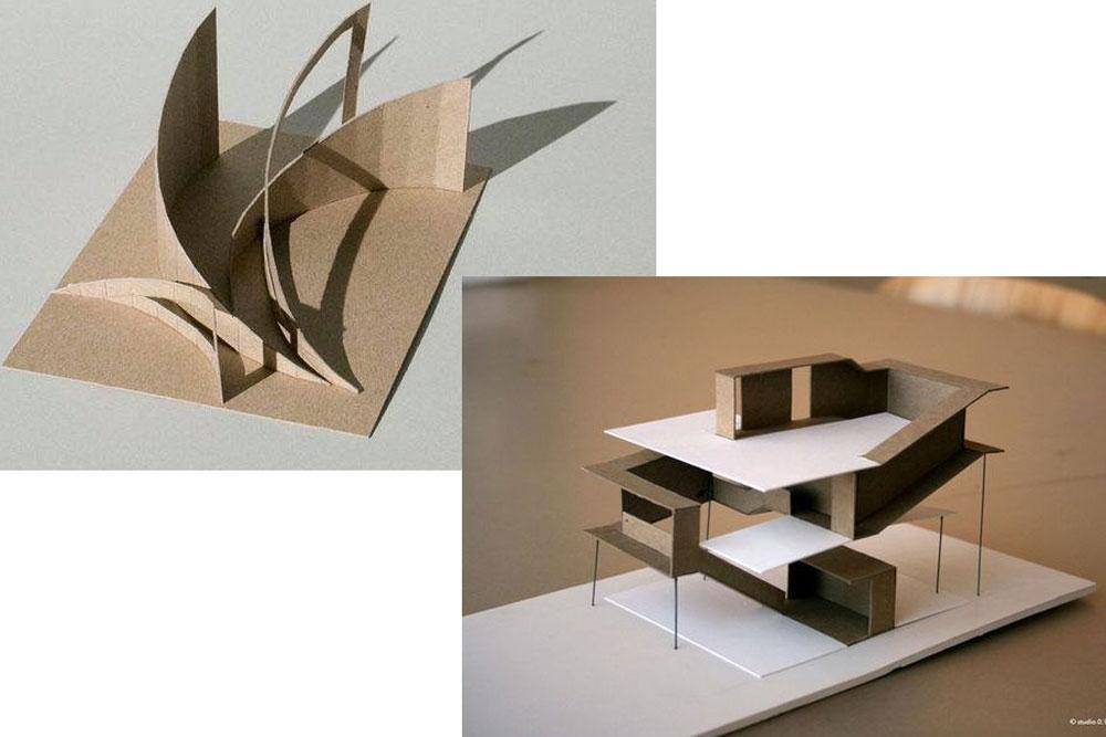 نمونه ماکت های کانسپت مدل
