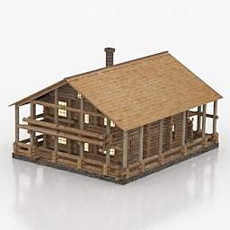 خانه ویلایی چوبی کلبه -070116