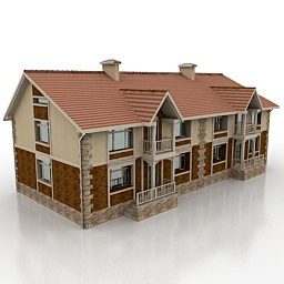 خانه ی ویلایی دو طبقه 121010