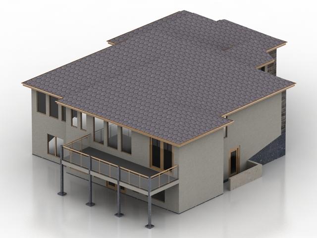 ساختمان خانه روستایی -160715