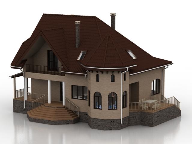 ساختمان خانه ویلایی -011015