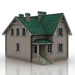 ساختمان خانه ی ویلایی -040310