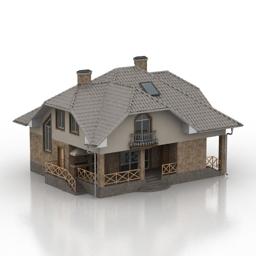 ساختمان خانه ی ویلایی -301213
