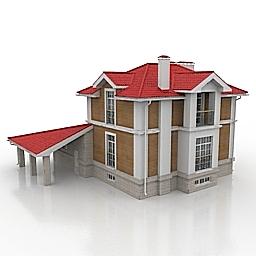 ساختمان دو طبقه مسکونی -120310