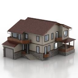 ساختمان منزل مسکونی ویلایی -100613