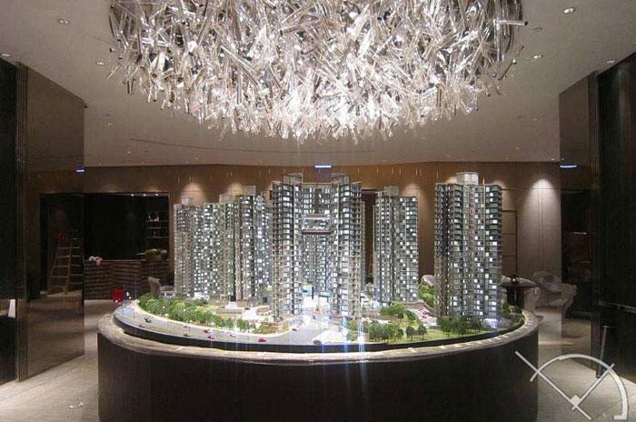 استفاده از ماکتهای معماری برای بازاریابی و فروش یک پروزه اقامتی