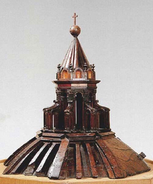 ماکت کلیسای جامع فلورانس، ساخته شده در سال 1418