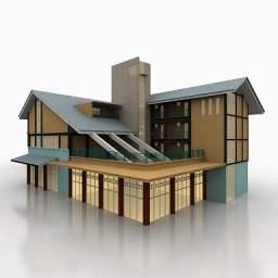 ساختمان تجاری مسکونی -090509