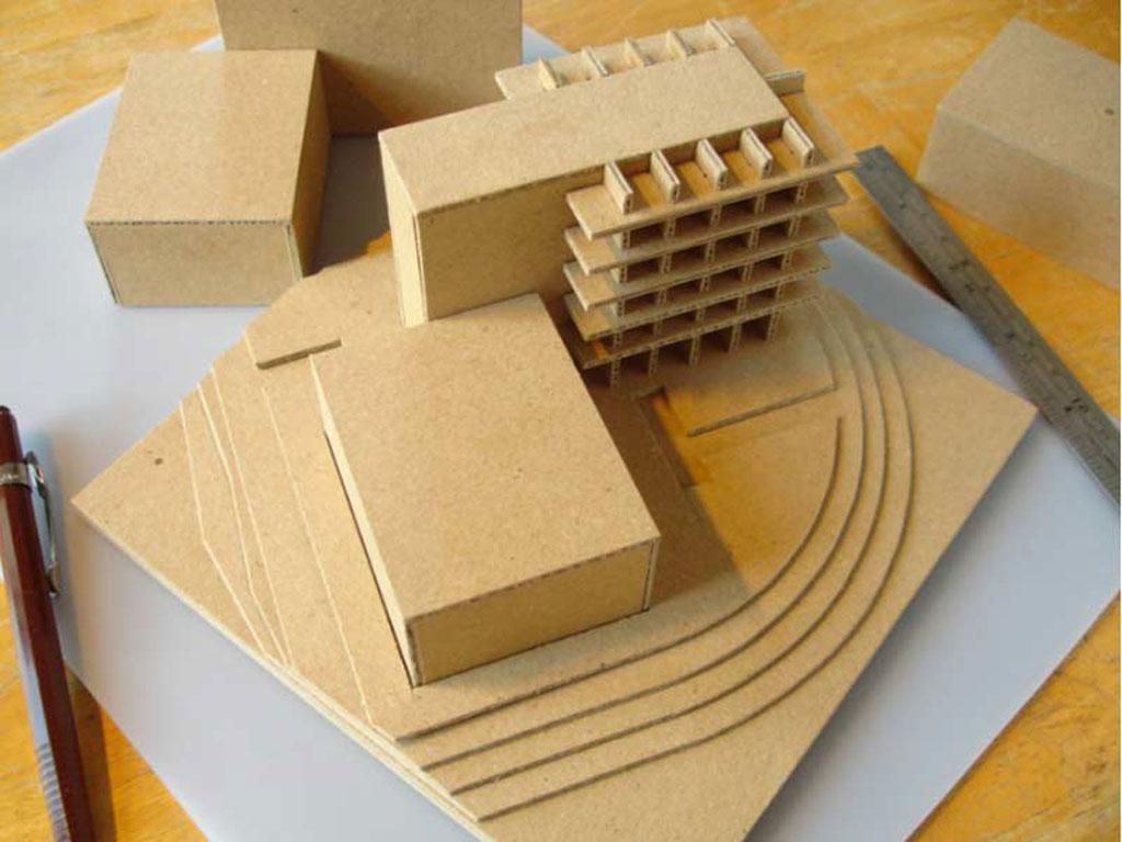 ساخت ماکت با تخته کرافیت
