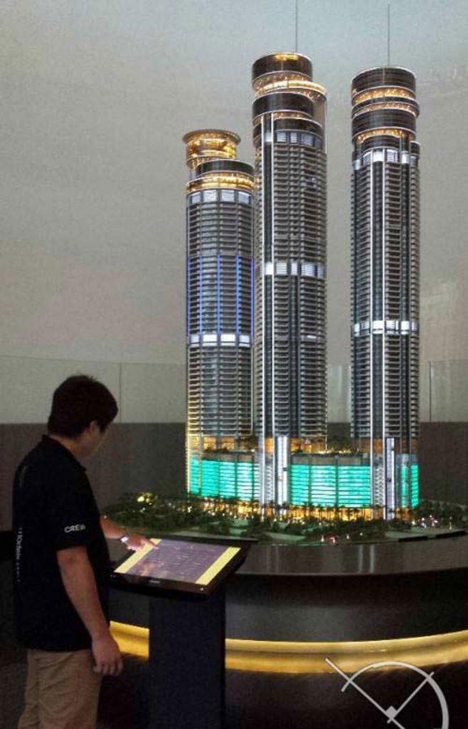نمایش ماکت های معماری به صورت تعاملی