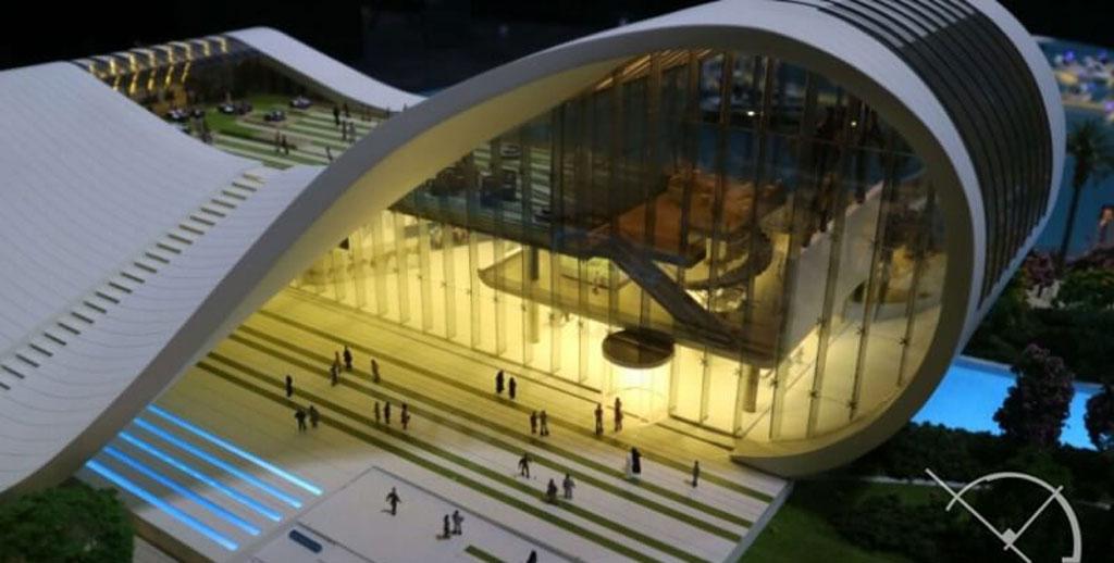 عکاسی از ماکت های معماری