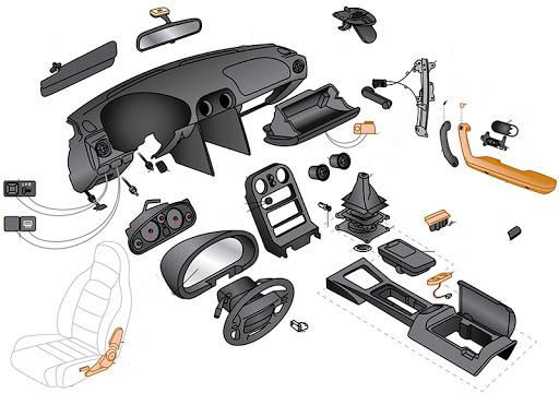 ساخت قطعات کم یاب و نایاب خودرو