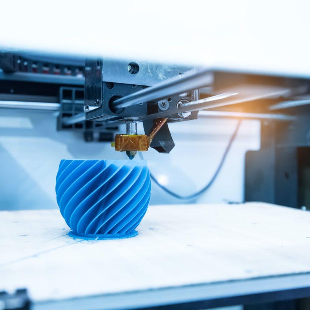 پرینتر سه بعدی ساخت قطعات ماشین